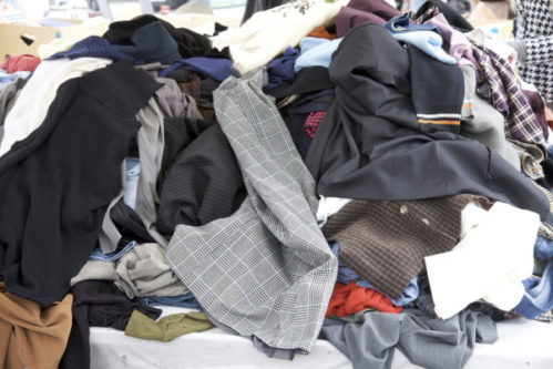 Clothing to be Dry Cleaned